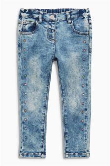Snow Wash Star Jeans (3mths-6yrs)
