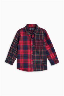 Splice Tartan Shirt (3mths-6yrs)