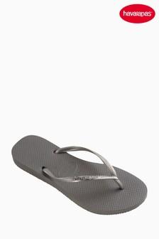 Havaianas® Steel Grey Slim Flip Flop