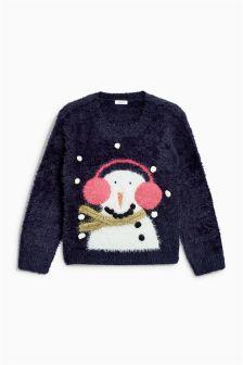 Christmas Snowman Jumper (3-16yrs)