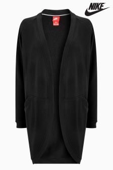 Nike Black Modern Cardigan