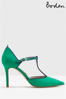 Boden Green Angelica T-Bar Heel