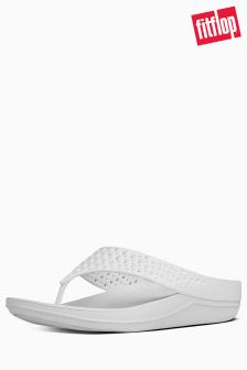 FitFlop™ Urban White Ringer Welljelly Flip Flop