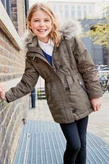 Older Girls Coats & Jackets | Older Girls Long Padded Coats | Next