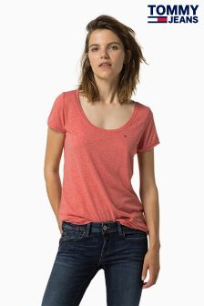 Tommy Jeans Red Original Top