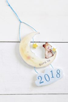 Born In 2018 Baby Boy Hanging Decoration