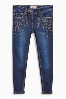 Stud Pocket Jeans (3-16yrs)