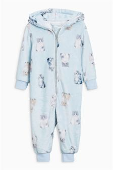 Cat Print All-In-One (9mths-8yrs)