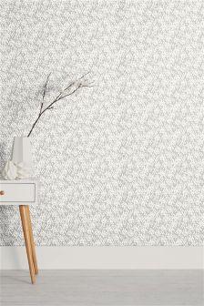 Paste The Wall Dash Print Wallpaper