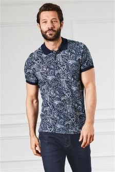 Paisley Premium Poloshirt