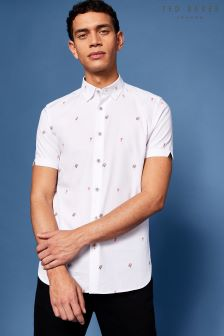 Ted Baker Aloha All-Over-Print Shirt