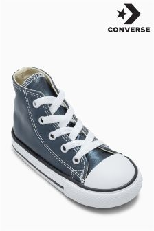 Converse Blue Chuck Taylor All Star Metallic Hi