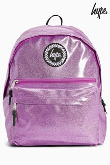Hype. Pink Glitter Backpack