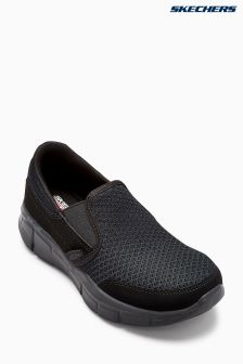 Skechers® Black Slip On Trainer
