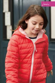 Joules Red Packaway Jacket