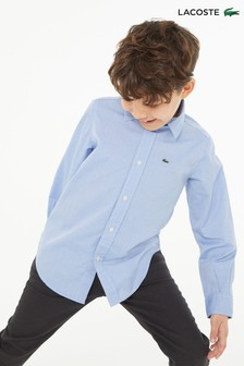 Lacoste® Long Sleeved Oxford Shirt