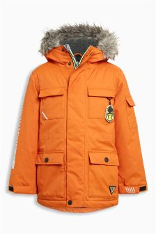 Boys Parka Jackets | Warm Parka Jackets For Boys | Next UK