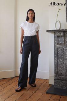 Hugo Boss Orange Black Leather Gloves