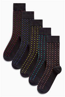 Bright Spots Socks Five Pack