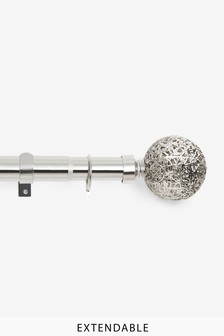 35mm Oriana Extendable Curtain Pole