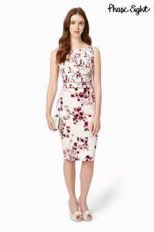 Phase Eight Champagne Hana Blossom Print Dress