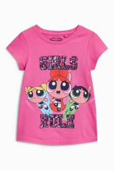 The Powerpuff Girls Print T-Shirt (3-16yrs)