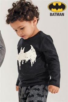 Drippy Batman® Long Sleeve T-Shirt (3mths-6yrs)