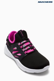 Skechers® Girls Printed Double Gore Sock Fit Sneaker