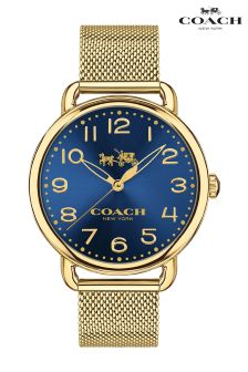 Coach Delancey Blue Face Watch