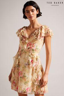 Lyle & Scott Leather Messenger Bag