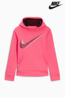 Nike Pink Therma Fleece Hoody