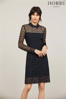 Hobbs Navy Fifi Dress