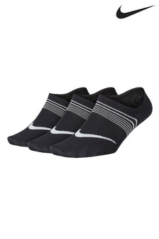 Nike Black Breathable Socks Three Pack