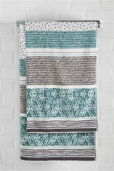Hadley Stripe Towels