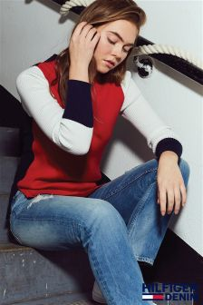 Tommy Hilfiger Denim Multi Block Colour Sweater