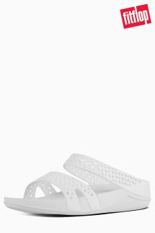 FitFlop™ Urban White Welljelly Z Slide Sandal