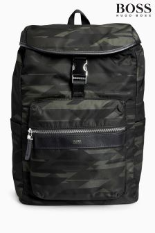 Boss Hugo Boss Camo Print Backpack