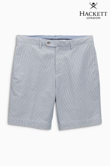 Hackett Navy Nautical Stripe Short