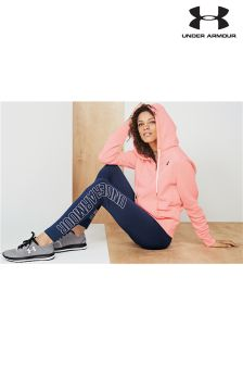 Under Armour Navy Favourite Graphic Legging