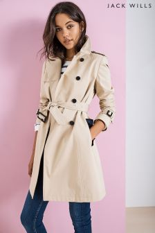 Jack Wills Stone Ambrose Trench Coat
