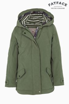 Fat Face Pale Khaki Portland Parka