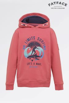Fat Face Indian Blush Graphic Hoody