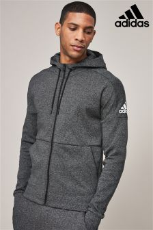 adidas Stadium Black Heather ID Zip Through