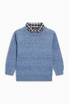 Mock Shirt (3mths-6yrs)