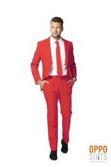 The Red Devil Oppo Suit