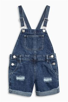 Dungaree Shorts (3-16yrs)