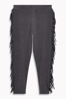 Fringe Side Leggings (3-16yrs)