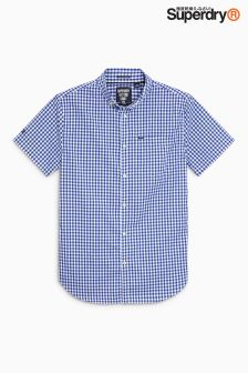 Superdry Short Sleeve Gingham Shirt