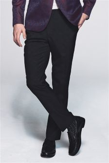 Tuxedo Skinny Fit Suit: Trousers