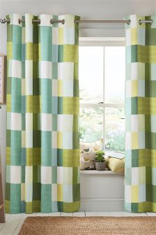 Colourblock Studio* Eyelet Curtains